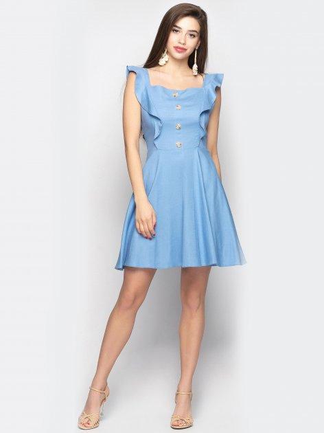 Платье Larionoff Aileen 44 Голубое (Lari2000005635823) - изображение 1