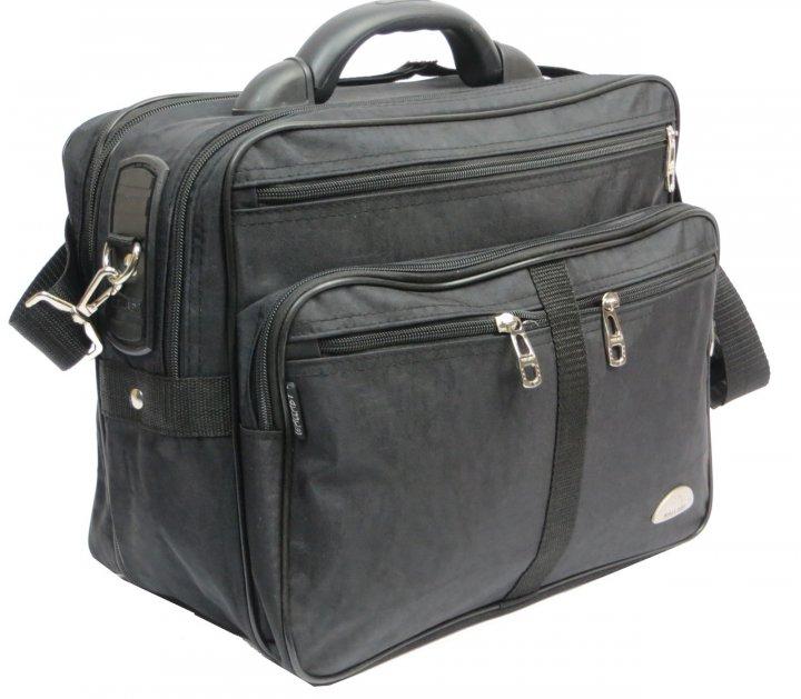 Вместительный мужской портфель Wallaby 25275 черный - изображение 1