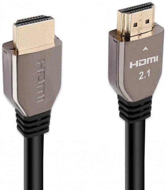 Кабель Promate ProLink8K-300 HDMI 2.1 UltraHD-8K HDR eARC 3 м Black (prolink8K-300.black) - зображення 1
