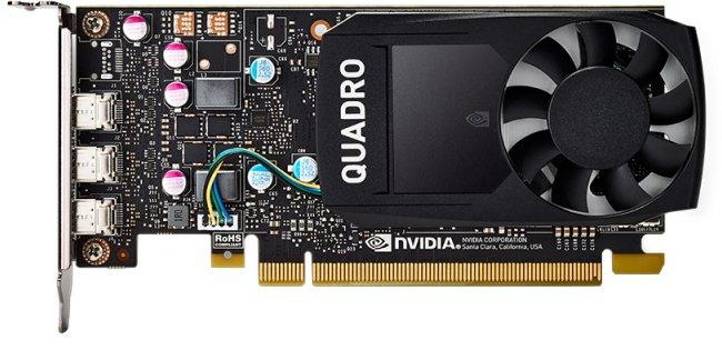 PNY PCI-Ex NVIDIA Quadro P400V2 2GB GDDR5 (64bit) (1070/4001) (3 x miniDisplayPort) (VCQP400V2-SB) - изображение 1