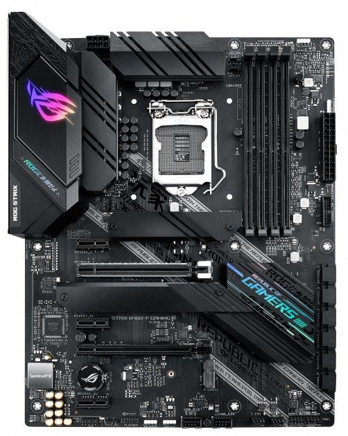Материнська плата Asus ROG Strix B460-F Gaming (s1200, Intel B460, PCI-Ex16) - зображення 1