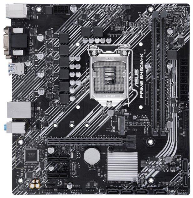 Материнська плата Asus Prime B460M-K (s1200, Intel B460, PCI-Ex16) - зображення 1