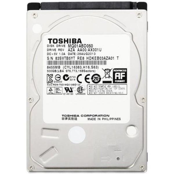 Жорсткий диск Toshiba 500GB 5400rpm 8MB MQ01ABD050V 2.5 SATA - зображення 1