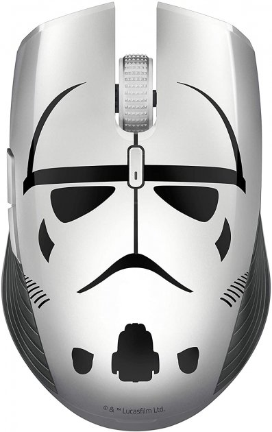 Мышь Razer Atheris Stormtrooper Edition Wireless/Bluetooth Gray/Black (RZ01-02170400-R3M1) - изображение 1