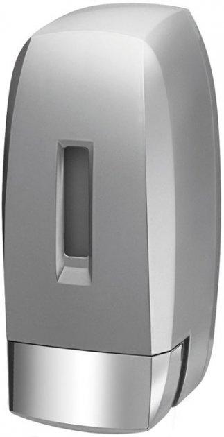 Дозатор для рідкого мила BISK K2 02276 500 мл сріблястий - зображення 1