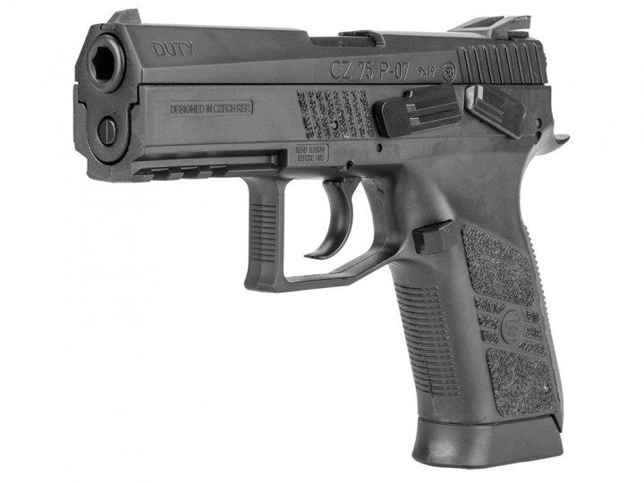 Пневматичний пістолет ASG CZ 75 P-07 Blowback - зображення 1
