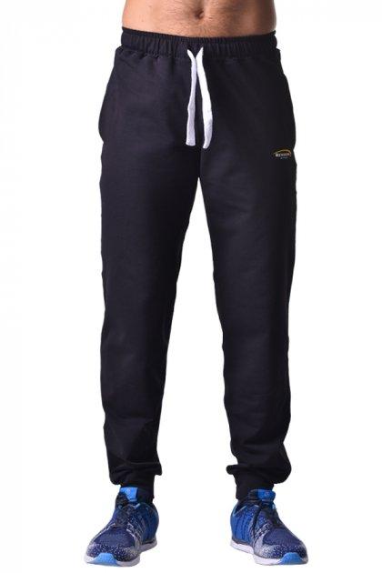 Мужские спортивные штаны зауженные из хлопка с карманами Berserk Sport Premium black P0923B M 2291000000086 - изображение 1