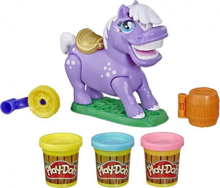 Игровой набор Play-Doh Пони-трюкач (E6726) (5010993633067) - изображение 1