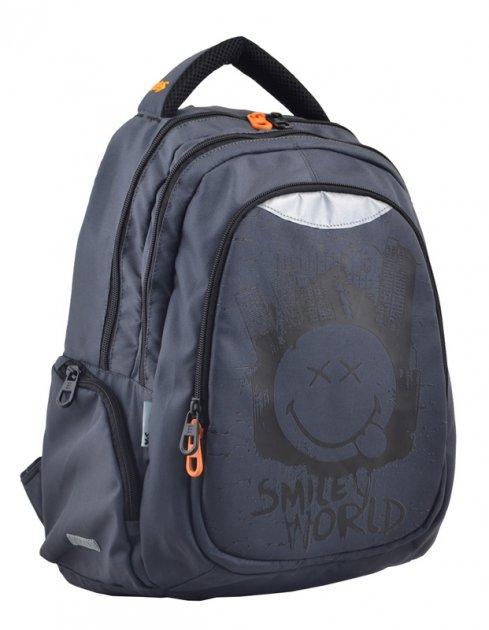 Рюкзак молодежный Yes T-22 Smile 45х31х15 см мужской 24 л (554802) - изображение 1
