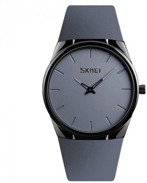 Мужские часы Skmei 1601BOXGY Gray BOX - изображение 1