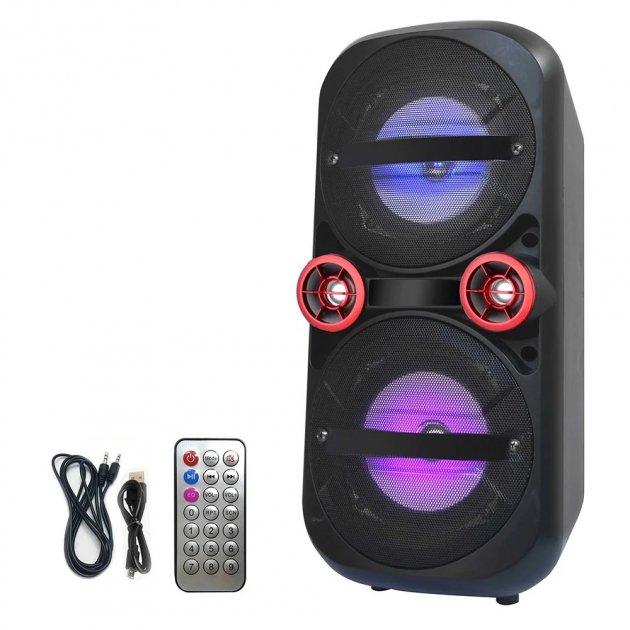 Акустична система Ailiang LiGE-A51 бездротова з підтримкою USB/TF карт/ FM-радіо/ AUX / Bluetooth Чорна (11188) - зображення 1
