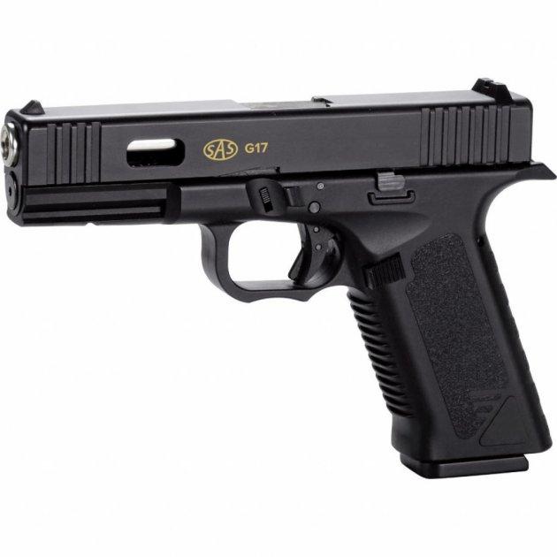 Пневматичний пістолет SAS G17 (Glock 17) Blowback (KMB-19AHN) - зображення 1
