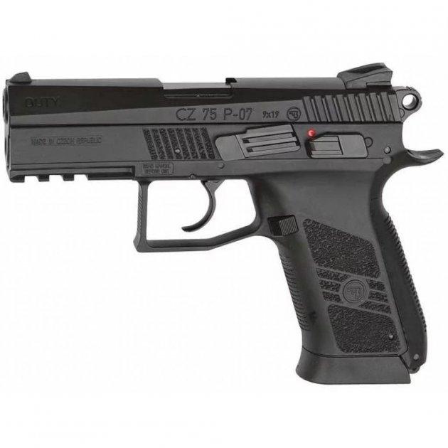 Пневматичний пістолет ASG CZ 75 P-07 4,5 мм (16726) - зображення 1