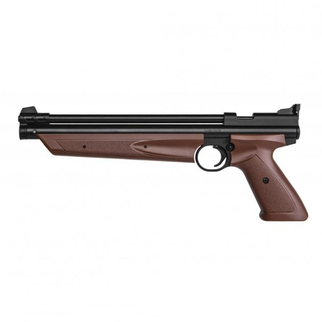 Пневматичний пістолет Crosman American Classic Brown (P1377BR) - зображення 1