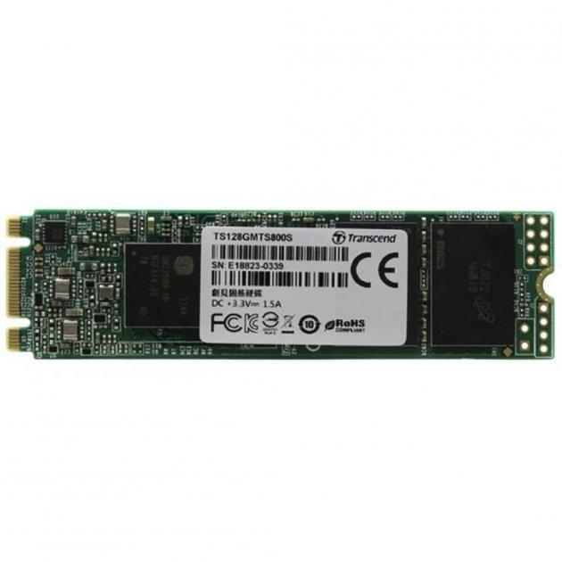 Накопитель SSD M.2 2280 128GB Transcend (TS128GMTS830S) - изображение 1