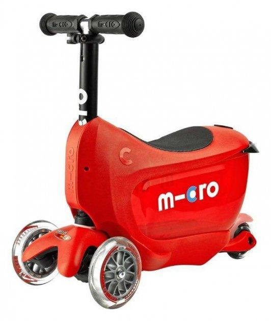 Самокат Micro Mini 2go Deluxe Червоний - зображення 1