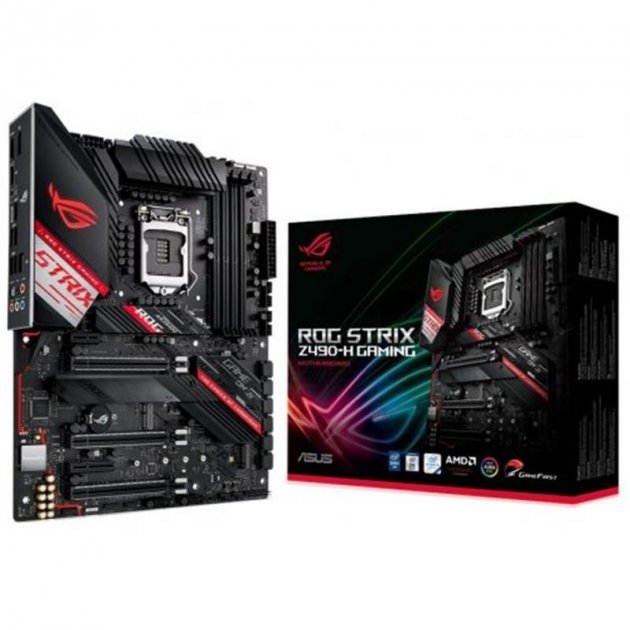 Материнская плата Asus ROG Strix Z490-H Gaming Socket 1200 - изображение 1