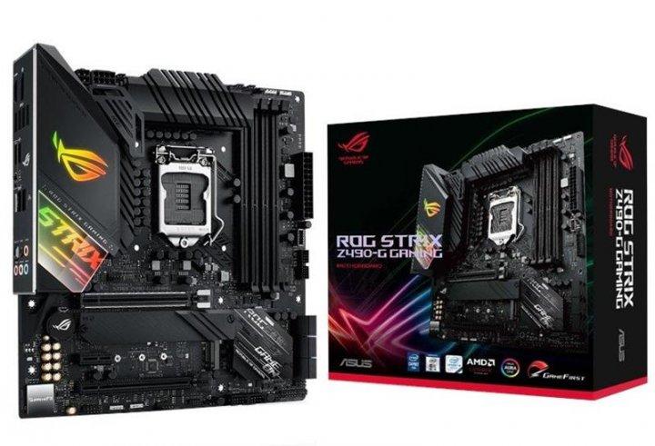 Материнская плата Asus ROG Strix Z490-G Gaming (Wi-Fi) Socket 1200 - изображение 1