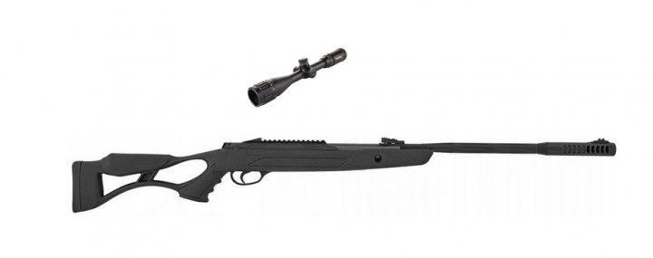 Пневматична гвинтівка Hatsan AirTact ED + приціл Sniper 3-9x40 AR - зображення 1