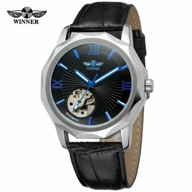 Часы мужские механические с автоподзаводом Winner H199M 2900000117167 - изображение 1