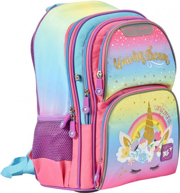 Рюкзак школьный YES S-30 Juno женский 0.65 кг 28x37x16 см 16.5 л Unicorn (558013) - изображение 1