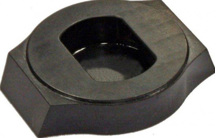 Передня база Henneberger для поворотних кріплень. У прицільну планку 10 мм. Висота підстави - 6 мм (3337.10.16) - зображення 1
