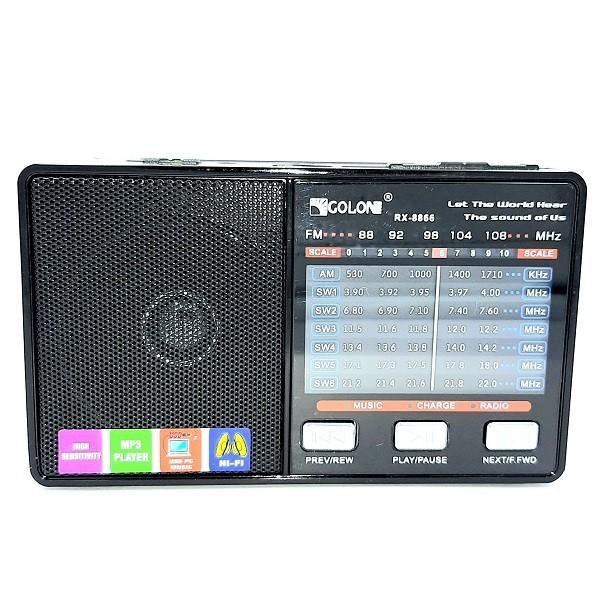 Радиоприёмник GOLON RX-8866 Black - изображение 1