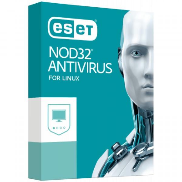Антивирус ESET NOD32 Antivirus для Linux Desktop для 12 ПК, лицензия на 2 y (38_12_2) - изображение 1