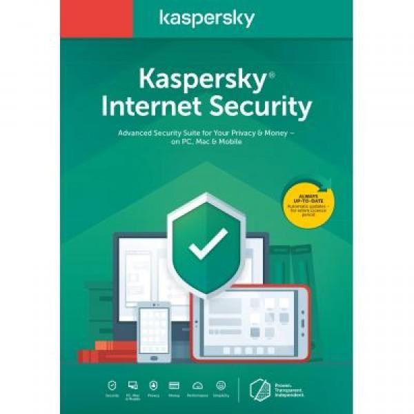 Антивірус Kaspersky Internet Security Multi-Device 2020 5 ПК 1 year Base Box (DVD (5056244903350) - зображення 1