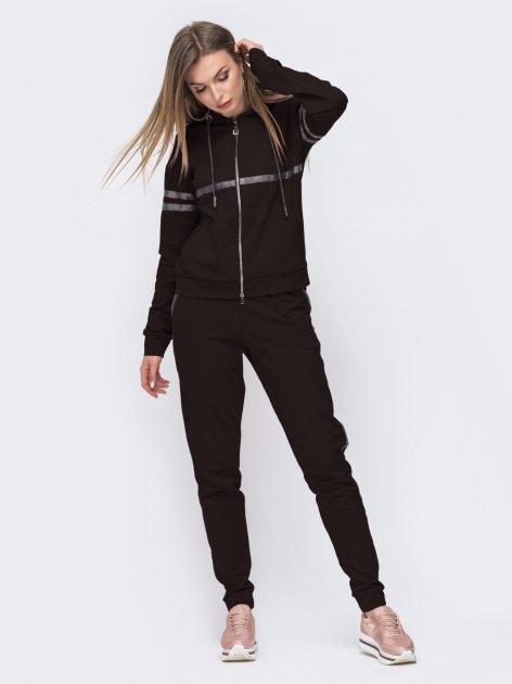Спортивный костюм Dressa 49305 52 Черный (2000348125784) - изображение 1