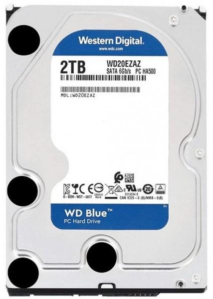 """Жорсткий диск (HDD) Western Digital 3.5"""" 2TB (WD20EZAZ) - зображення 1"""
