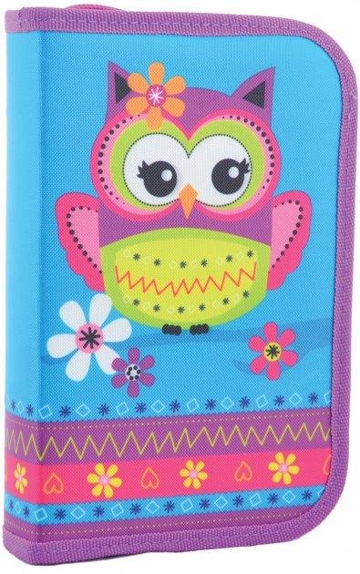 Пенал твердый Smart Owl одинарный с двумя клапанами (531681) - изображение 1