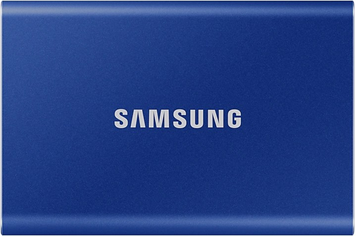 Samsung Portable SSD T7 2TB USB 3.2 Type-C (MU-PC2T0H/WW) External Blue - изображение 1