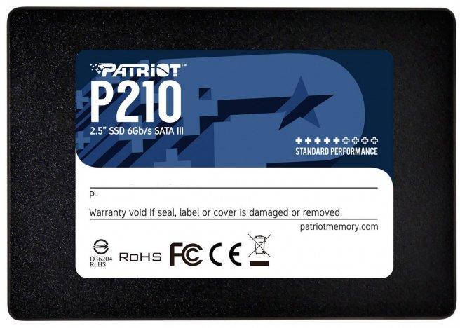 "Patriot P210 512GB 2.5"" SATAIII TLC (P210S512G25) - зображення 1"