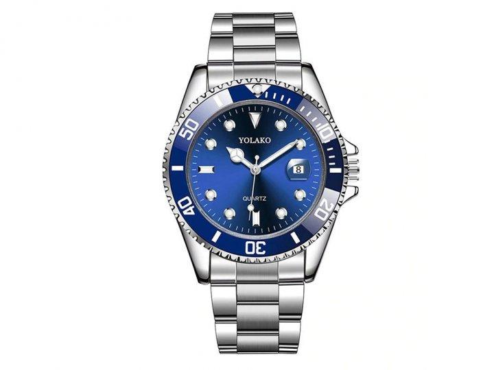 Годинник Yolako чоловічі Кварцові Синій (1007-062-01) - зображення 1