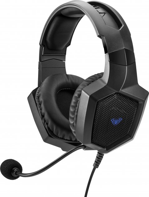 Наушники Aula Heleus Black Virtual 7.1 Sound (6948391236711) - изображение 1