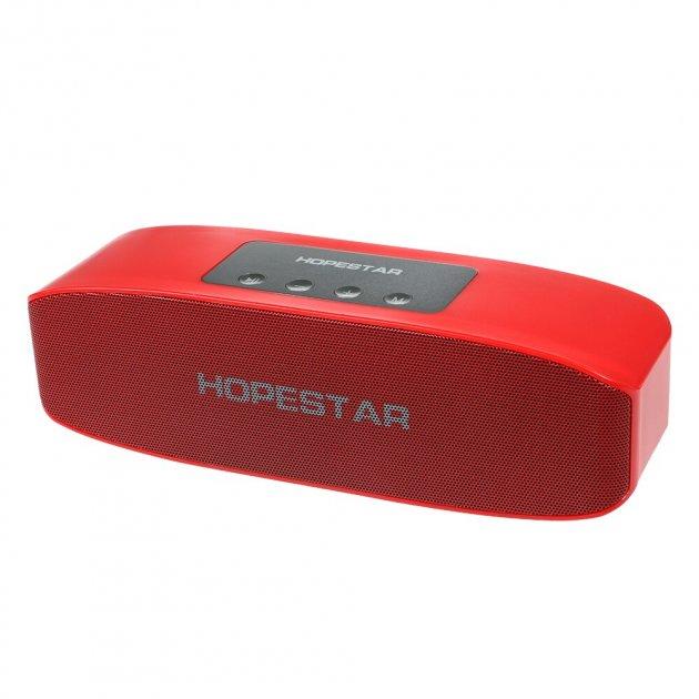 Портативная колонка Hopestar H11 + Bluetooth 4.2, встроенный микрофон, поддержка USB, TF 32Гб Красный (11335) - изображение 1