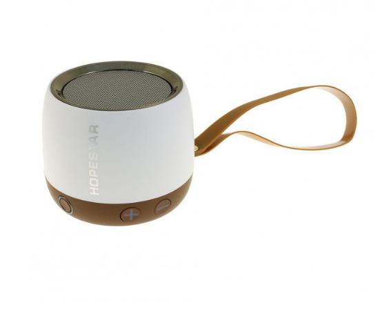 Беспроводная колонка Hopestar H17 аккумуляторная + Bluetooth 4.0, встроенное радио и поддержка MP3, WMA Белая (11331) - изображение 1