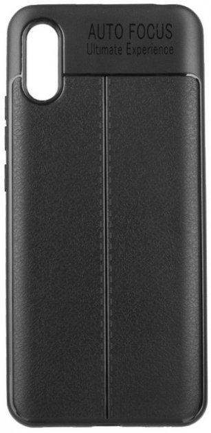 Панель ColorWay TPU Leather для Xiaomi Redmi 9A Black (CW-CTLEXR9A-BK) - изображение 1