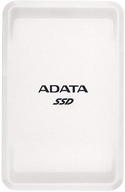 "ADATA SC685 250GB 2.5"" USB 3.2 Type-C 3D NAND TLC White (ASC685-250GU32G2-CWH) External - зображення 1"