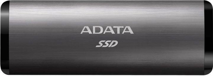 ADATA SE760 512GB USB 3.2 Type-C 3D NAND TLC Titanium Gray (ASE760-512GU32G2-CTI) External - изображение 1