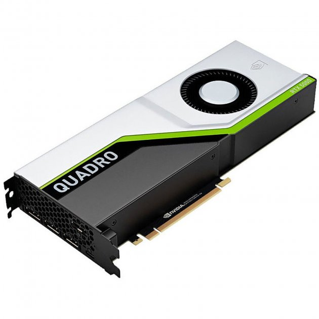 Видеокарта PNY PCI-Ex NVIDIA Quadro RTX5000 16GB GDDR6 (256bit) (3 x DisplayPort, 1 х VirtualLink) (VCQRTX5000-BSP) (WY36dnd-242021) - изображение 1