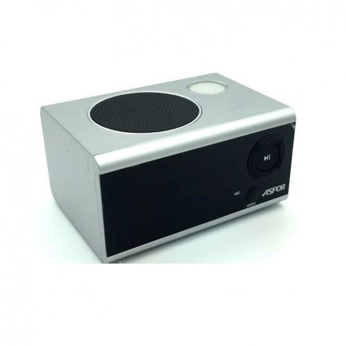 Bluetooth колонка Aspor A659 Silver - зображення 1