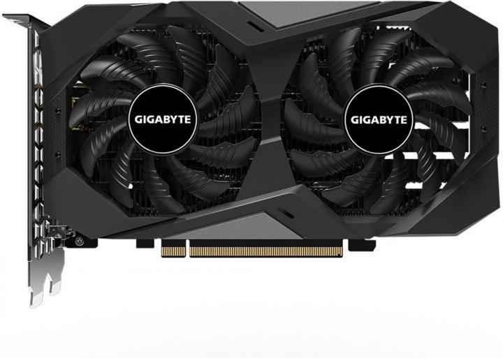 Gigabyte PCI-Ex GeForce GTX 1650 D6 Windforce OC 4GB GDDR6 (128bit) (1710/12000) (DVI-D, HDMI, DisplayPort) (GV-N1656WF2OC-4GD) - зображення 1