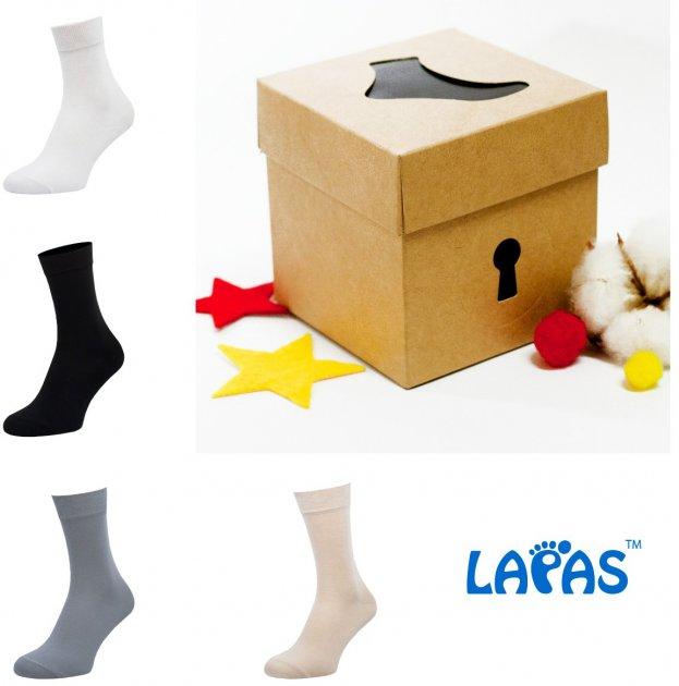Набор носков Lapas 4P-210-211 44-46 (4 пары) Разноцветный (4820234211173) - изображение 1