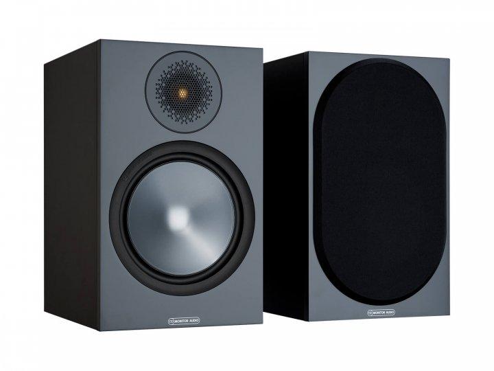 Полочная акустика Monitor Audio Bronze 100 Black (6G) - изображение 1