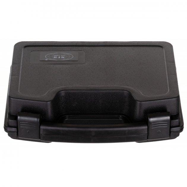 Кейс для пістолета пластиковий із застібками малий чорний MFH (27169A) - зображення 1