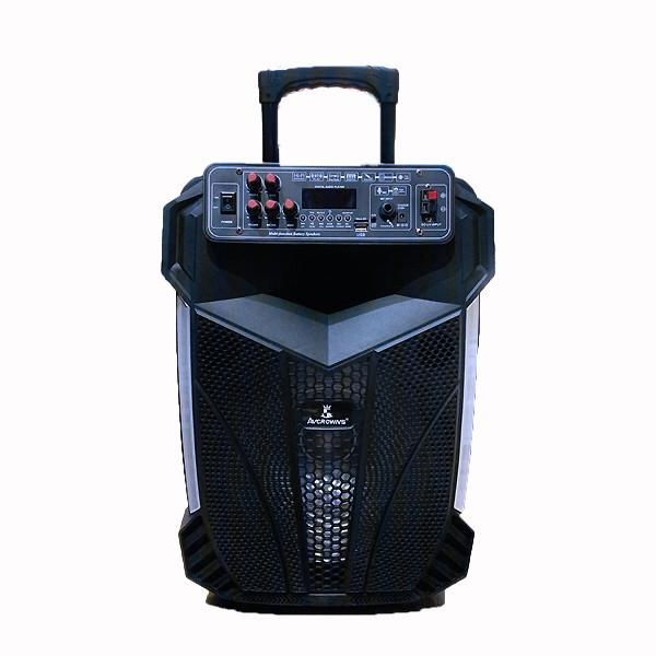 Бездротова акустична блютуз система AwCrowns CH1201, 250W, світломузика, мікрофон - зображення 1