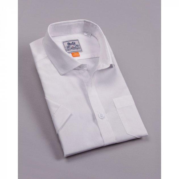 Рубашка BoGi классическая Белая (104.001.0225.01) 164-170 см - изображение 1