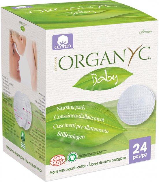 Накладки для грудей Corman Organyc з органічної бавовни 24 шт. (8016867001274) - зображення 1
